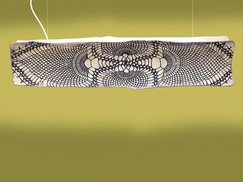 Handmade ceramic pendant lamp ARTU' by ENGI