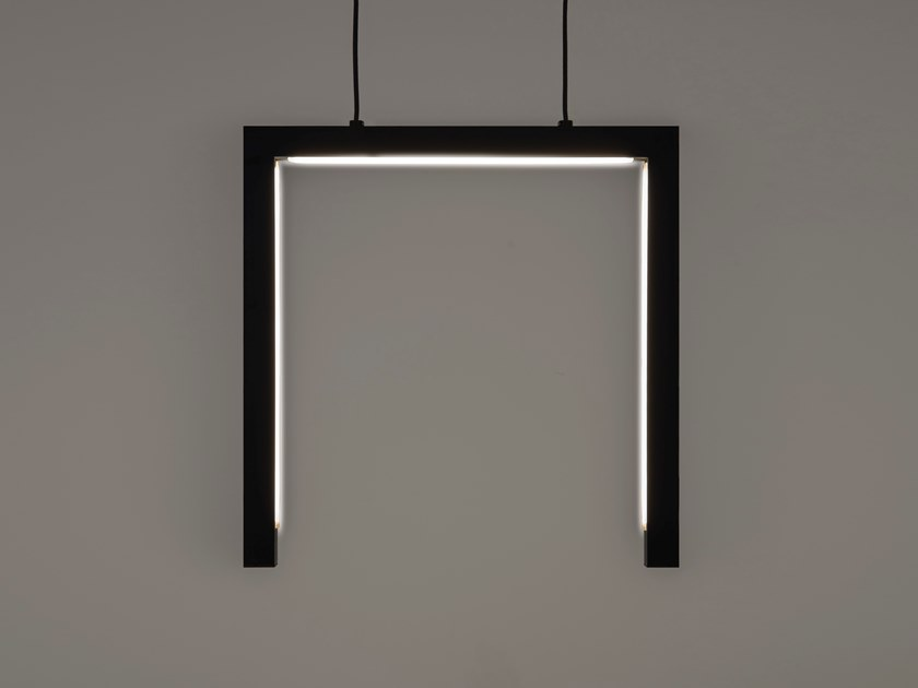 LED direct light metal pendant lamp ARTYS H3 M by ILFARI