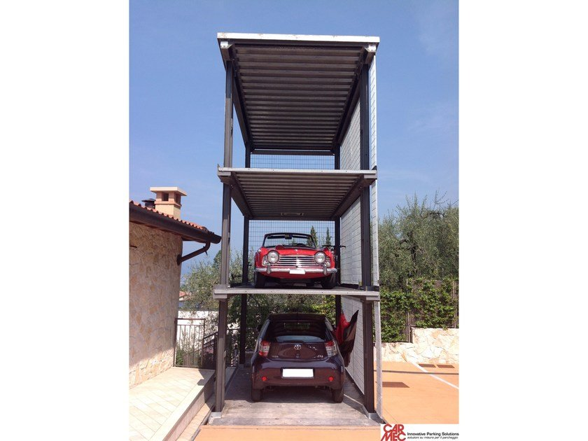 Automatic parking systems AS-3P by CARMEC