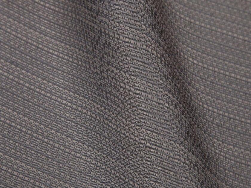 Solid-color synthetic fibre fabric for curtains ASAKUSA by Gancedo