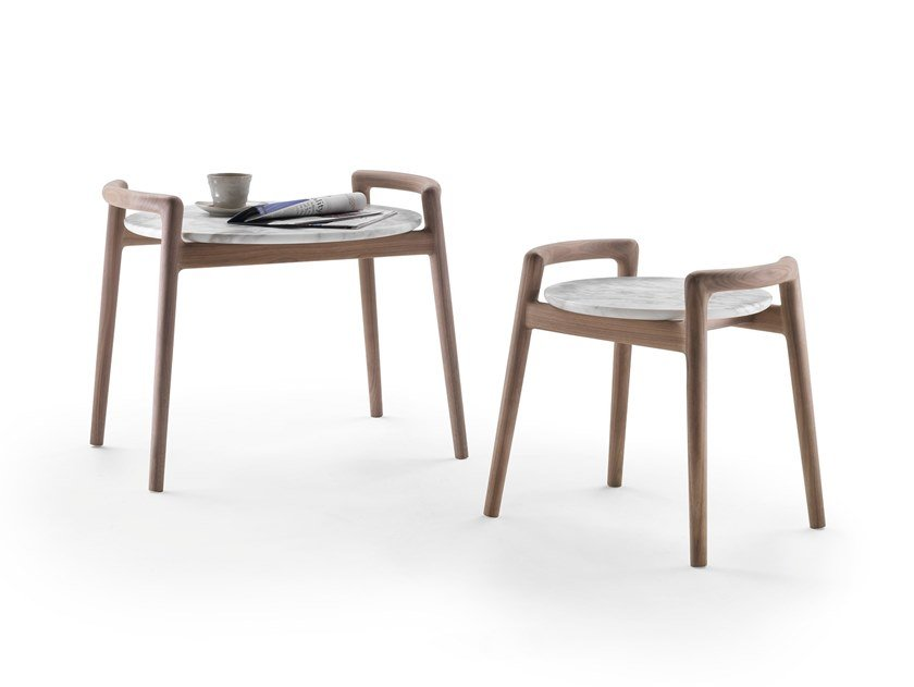 Round coffee table ASCANIO by FLEXFORM