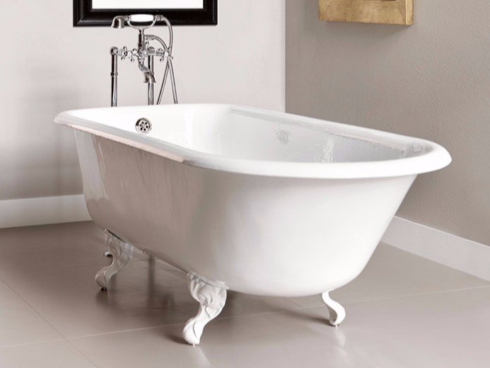 Cast iron bathtub on legs ASCOTT by BATH&BATH