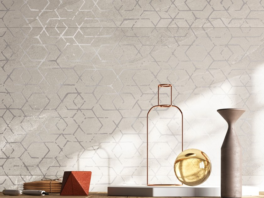 Porcelain stoneware wall/floor tiles with stone effect ASHIMA DK by Ceramica d'Imola