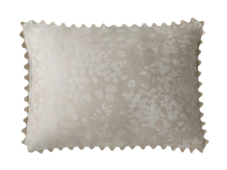 Cuscino rettangolare in lino ASHLYN by Alexandre Turpault