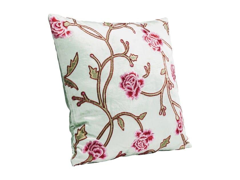 Square fabric cushion ASIAN GARDEN MULTI by KARE-DESIGN