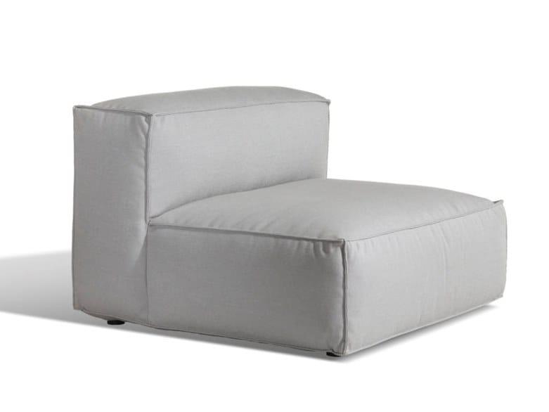 Upholstered Sunbrella® garden armchair ASKER   Garden armchair by Skargaarden