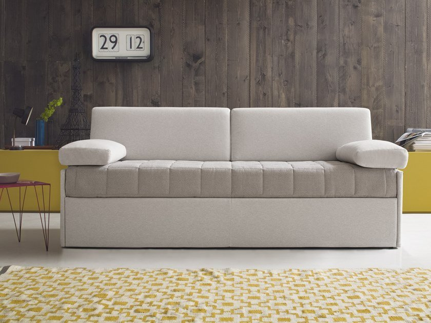 3 seater fabric sofa bed ASKY by Felis