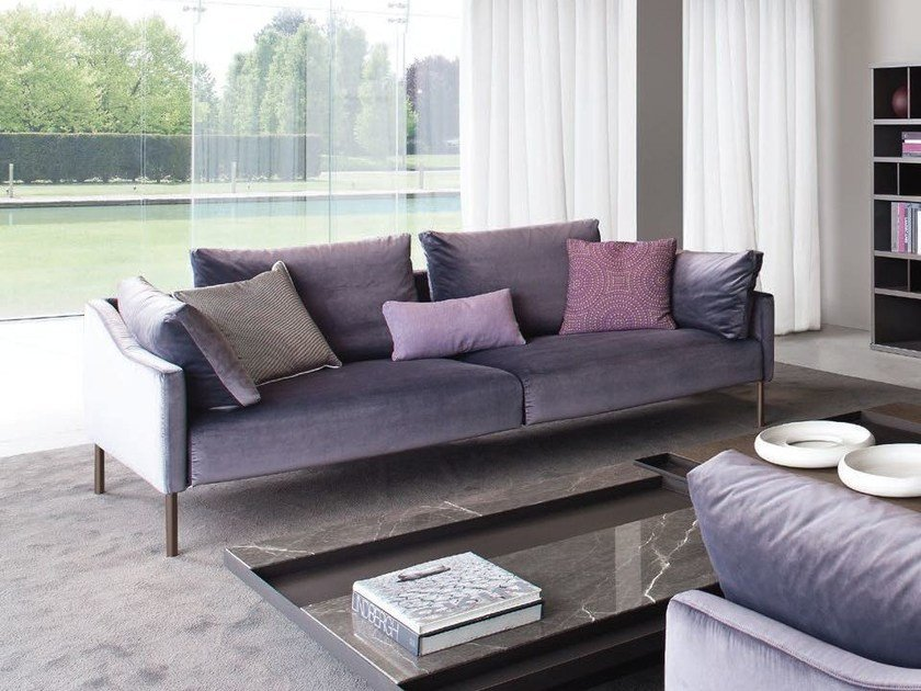 3 seater fabric sofa ASOLO by JESSE