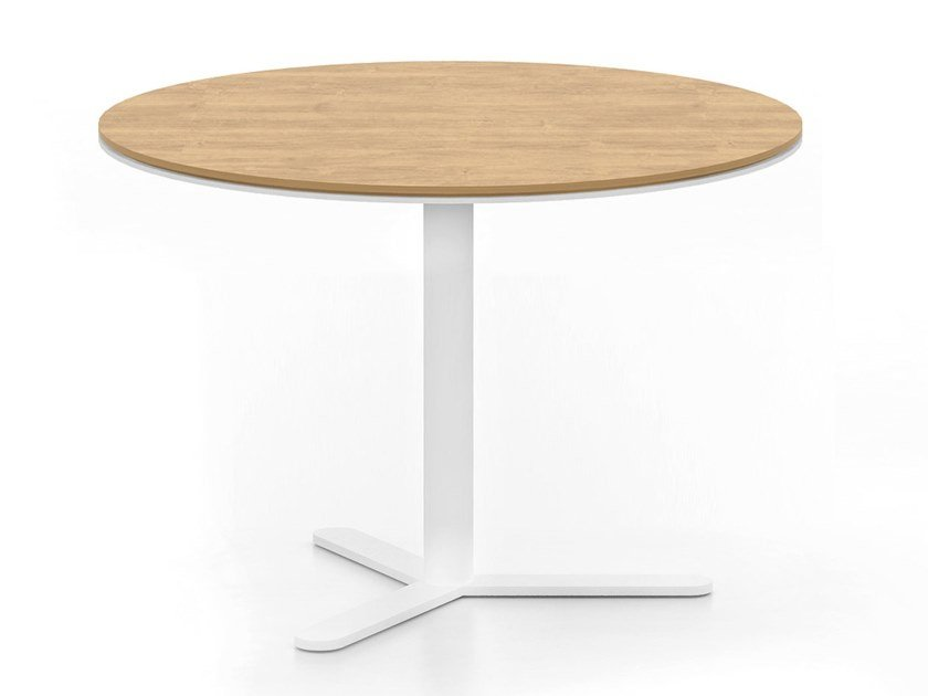 Round MDF table ASPA | Round table by Viccarbe