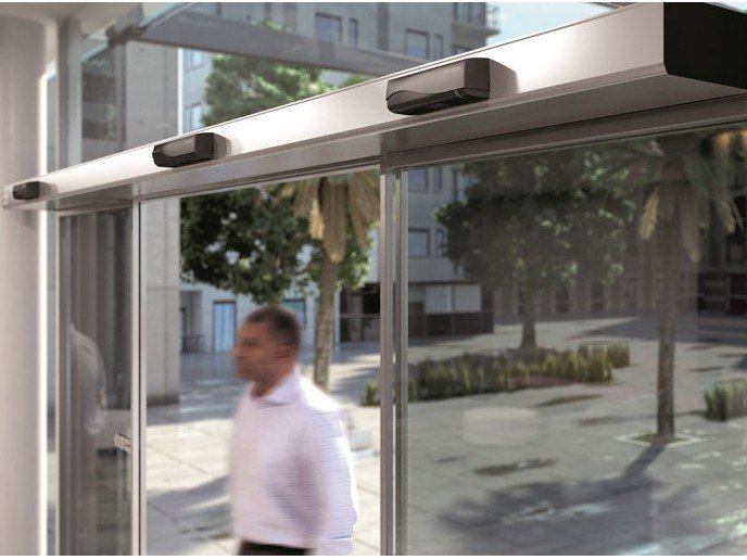 Automated door system ASSA ABLOY SL500 by ASSA ABLOY