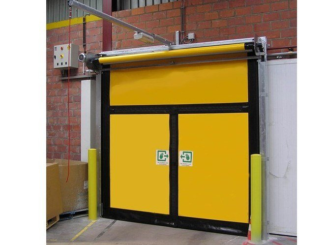 Sectional door ASSA ABLOY emergency exit doors by ASSA ABLOY