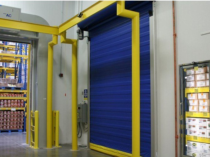 Sectional door ASSA ABLOY food processing doors by ASSA ABLOY