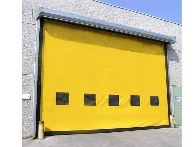 Sectional door ASSA ABLOY high-speed exterior doors by ASSA ABLOY