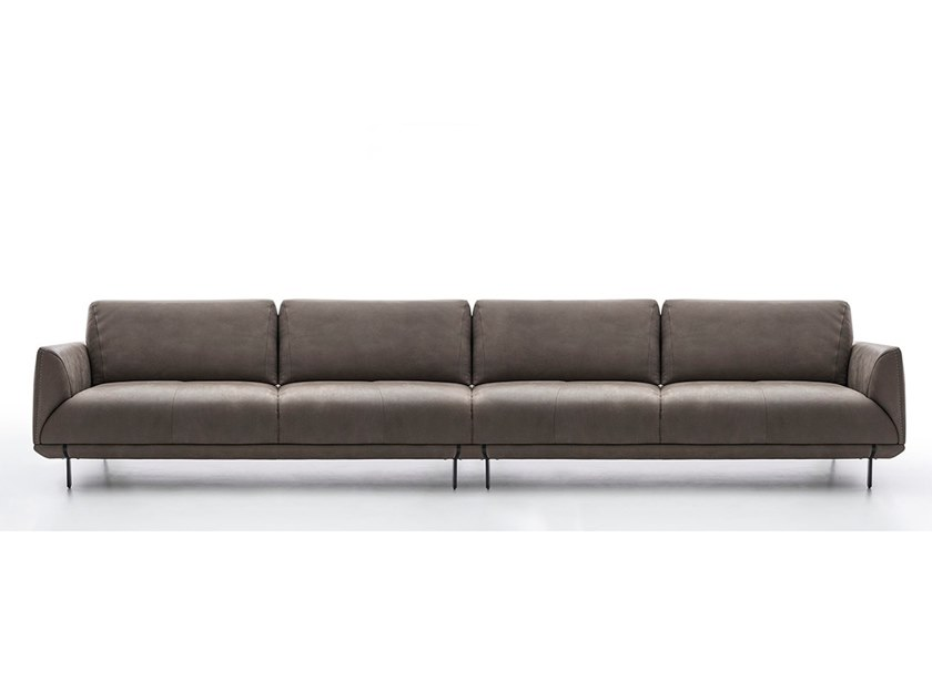 Sectional leather sofa ASSAGO | Sofa by NICOLINE