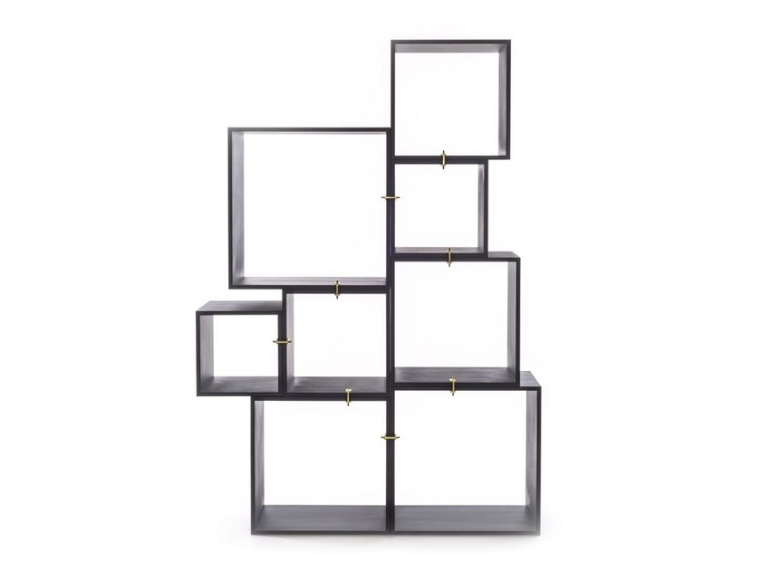 Modular bookcase ASSEMBLAGE by Seletti