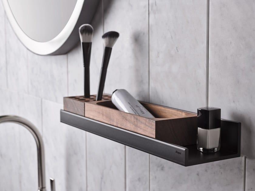 Porta asciugamani / mensola bagno in alluminio ASSIST by Alape