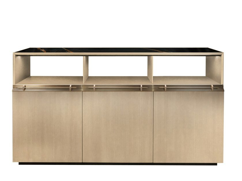 Highboard with doors ASTA 3 by Garbarino