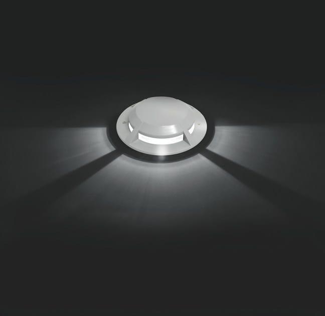 LED die cast aluminium steplight ASTER.C F.1115 by Francesconi & C.