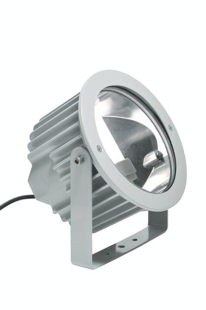 Fluorescent adjustable die cast aluminium Outdoor floodlight ASTER F.4074 by Francesconi & C.