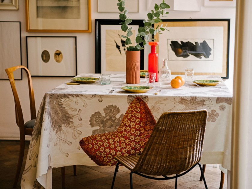 Linen tablecloth ASTERIAS | Linen tablecloth by The NapKing