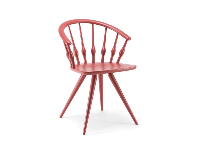 Beech chair ASTON | Chair by Cizeta L'Abbate