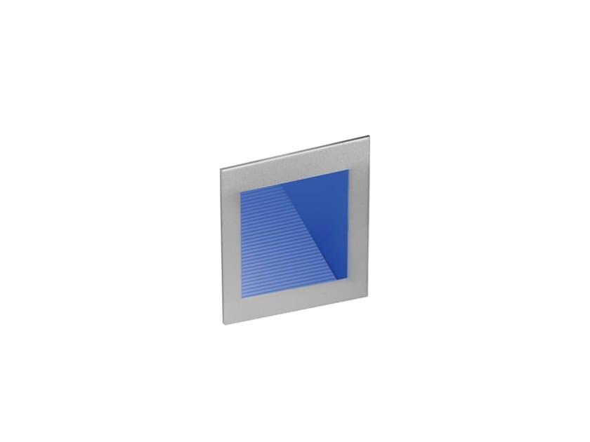Segnapasso a LED in acciaio per esterni ASYLED T02 by Metalmek