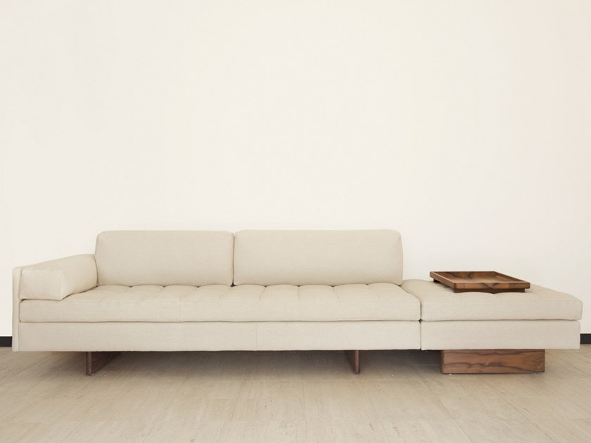 Sectional modular sofa ASYMMETRIC | Sectional sofa by BassamFellows
