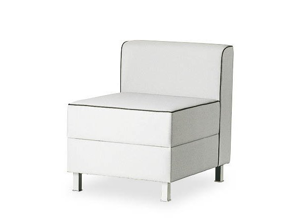 Upholstered armchair AT LOUNGE   Armchair by FANTONI