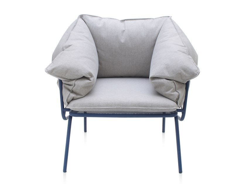 Garden fabric easy chair with armrests ATAMAN MESH | Easy chair by Garda Furniture
