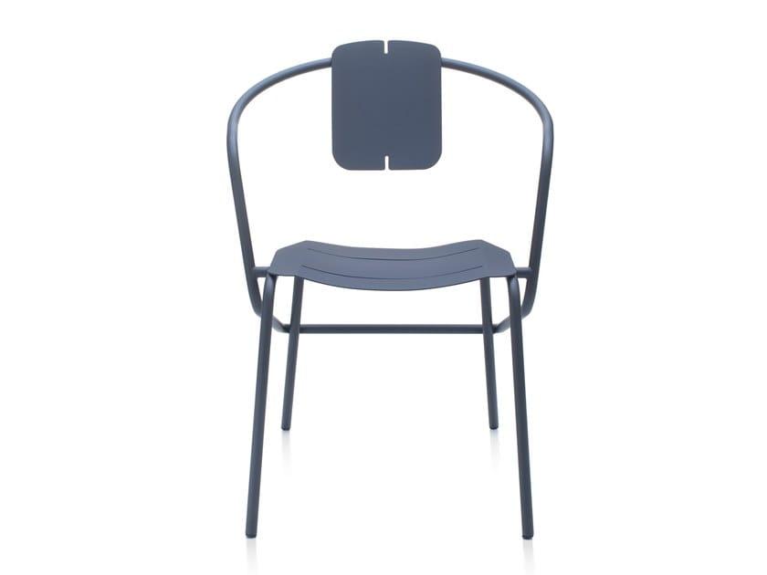 Furniture Da Metallo In Ataman Con Minimalist Sedia Braccioli Giardino Garda gymYIf7vb6