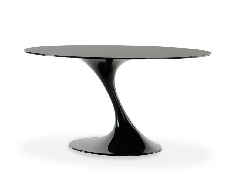 Lacquered fiberglass table ATATLAS by Casprini