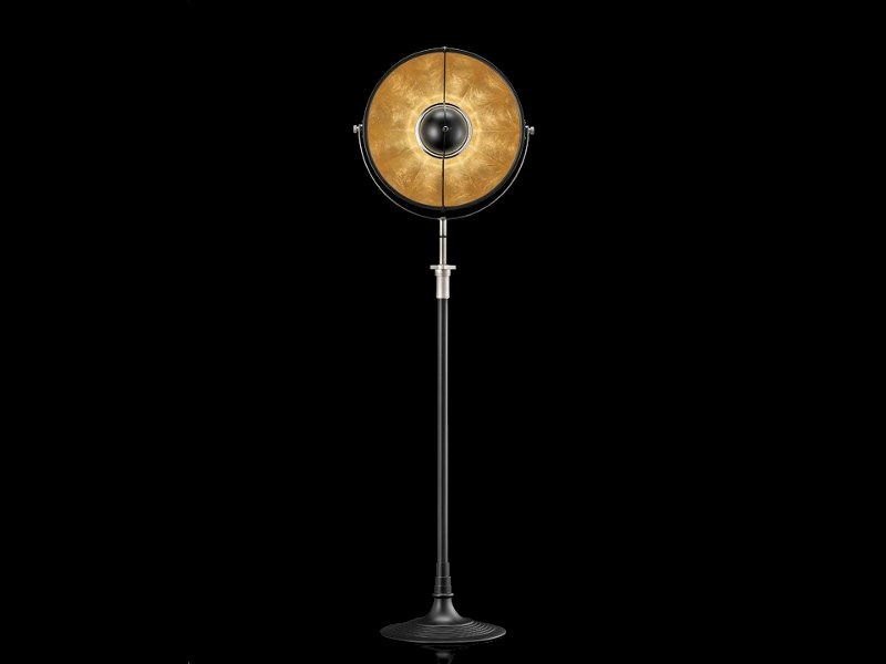 Indirect light adjustable floor lamp ATELIER 41 by Fortuny