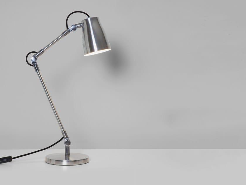 Direct light aluminium desk lamp ATELIER DESK BASE by Astro Lighting
