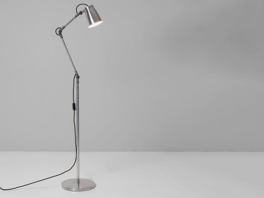 Lampada da terra orientabile in alluminio ATELIER FLOOR BASE by Astro Lighting