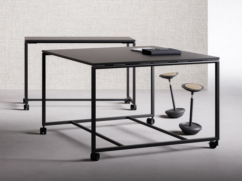 High meeting table with castors ATELIER | High meeting table by FANTONI