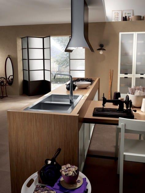 Cucina componibile ATELIER Collezione Scavolini Basic By Scavolini