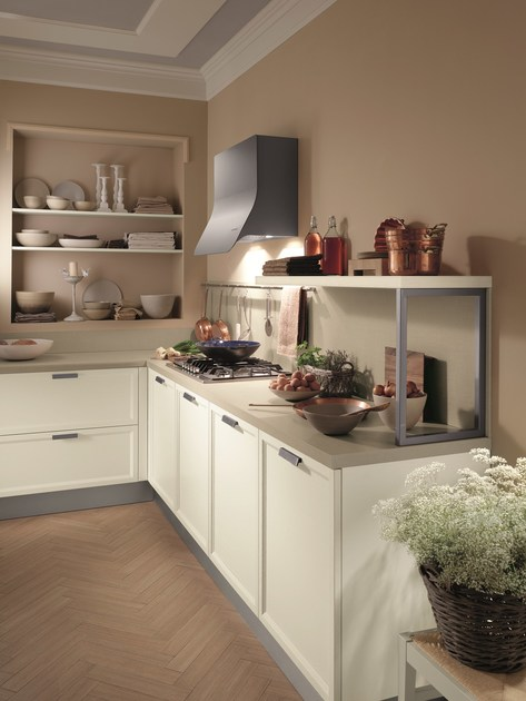 Fitted kitchen atelier scavolini basic collection by scavolini for Scavolini prices