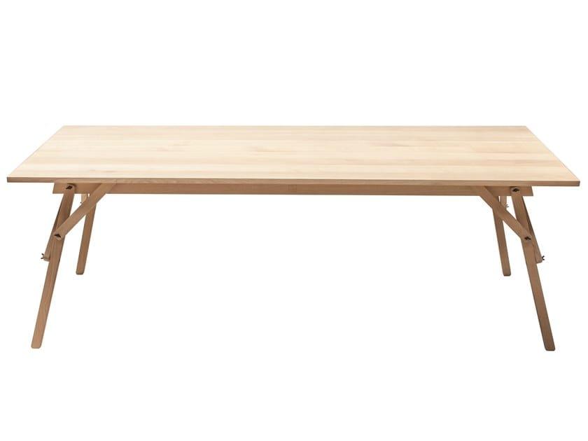 Rectangular oak table ATELIER | Table by UBIKUBI