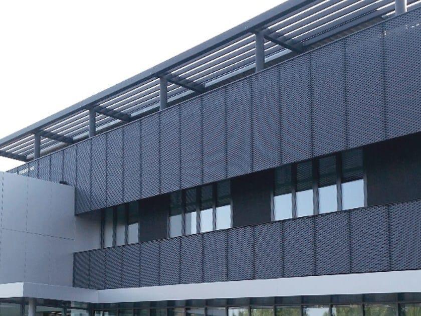 Aluminium Panel For Facade Atena Architectural Mesh By Atena