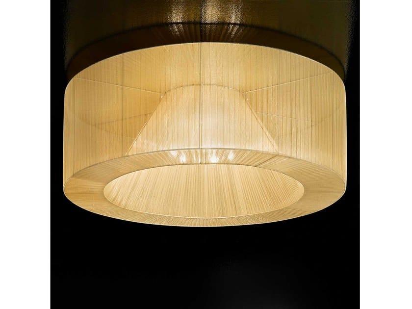 Plafoniera a luce diretta in organza ATENA | Lampada da soffitto by IDL EXPORT
