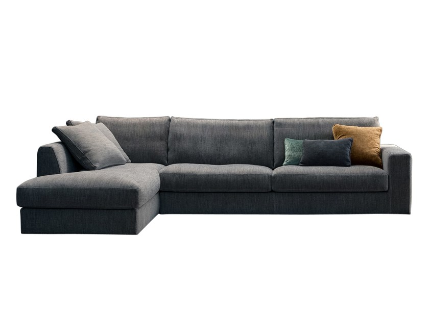 Sectional sofa with chaise longue ATENA | Sectional sofa Atena ...