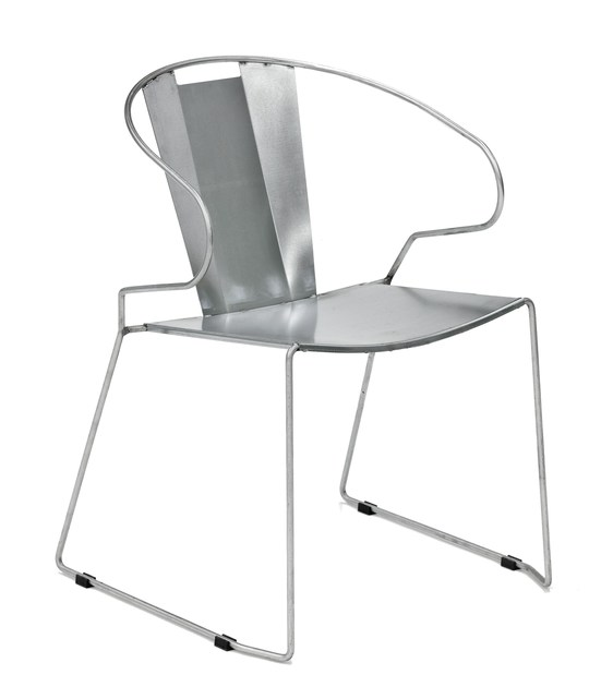 Sled base chair with armrests ATHENS by iSimar