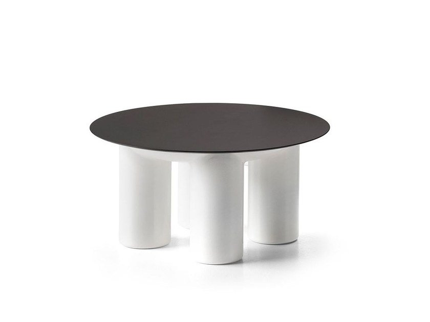 Low Round Coffee Table Atene By P