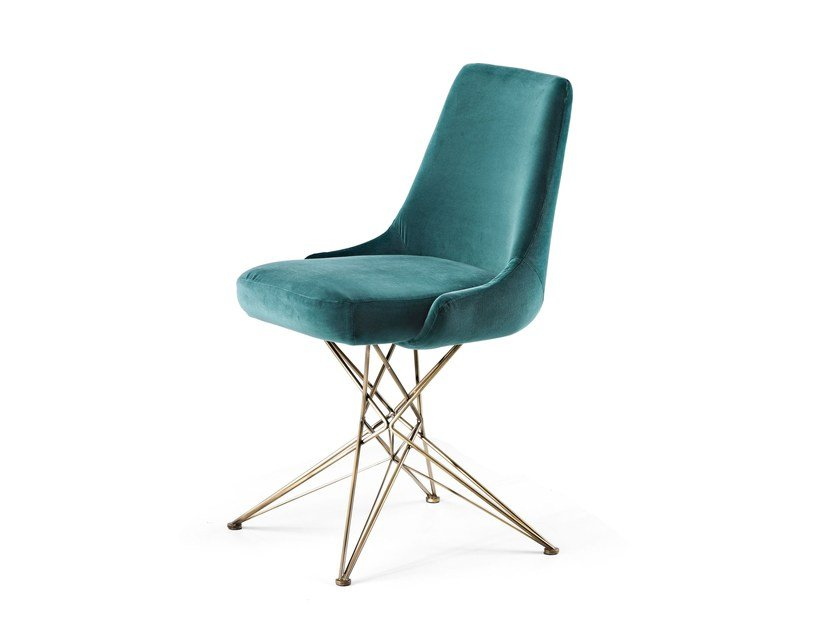 Upholstered chair ATHENA by Arketipo