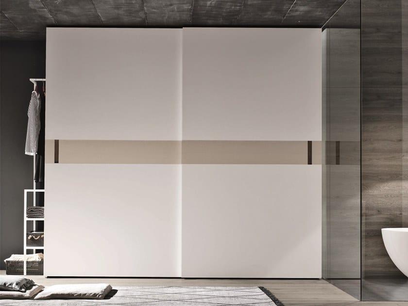 Lacquered wardrobe with sliding doors ATHENA | Wardrobe with sliding doors by Gruppo Tomasella