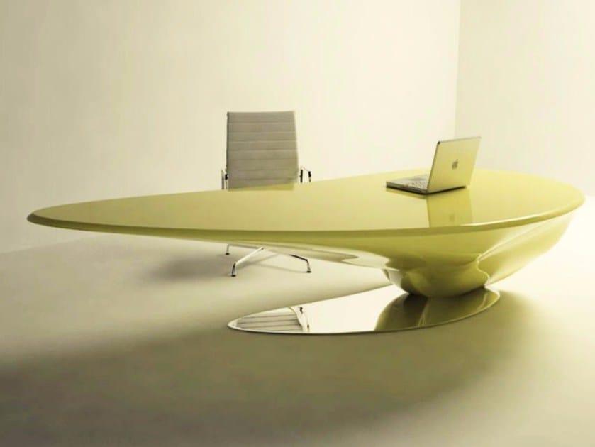 Lacquered Adamantx® executive desk ATKINSON by ZAD ITALY