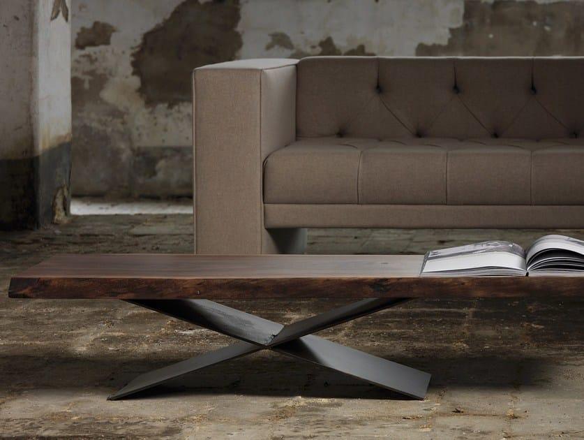 Rectangular coffee table ATKOV by Domingo Salotti
