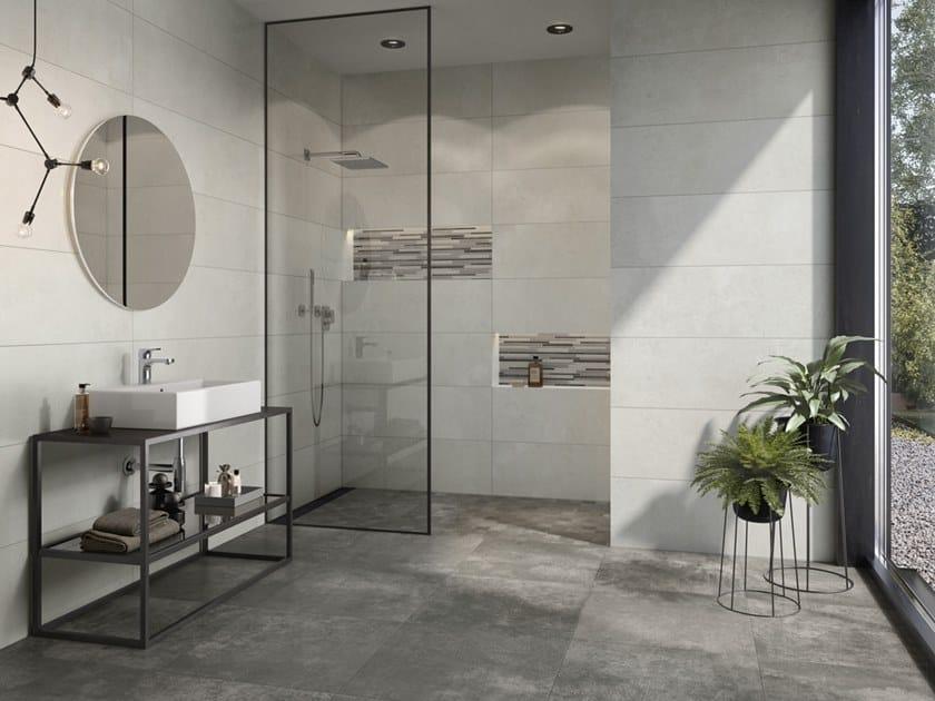Porcelain stoneware wall/floor tiles with concrete effect ATLANTA by Villeroy & Boch Fliesen