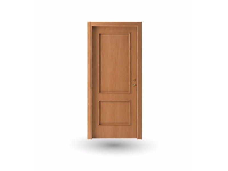 Hinged wooden door ATLANTE A61 ALFA by GD DORIGO