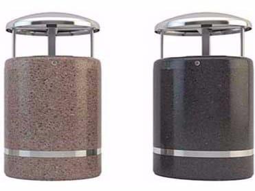 Litter bin with lid ATLANTE by Bellitalia